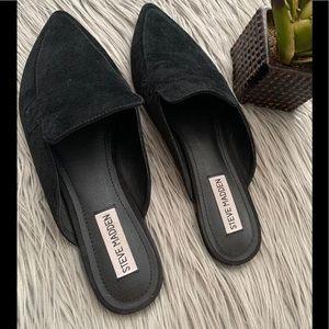 Steve Madden Black Flats Size 8.5